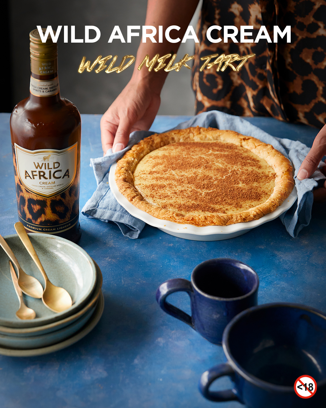 WILD AFRICA CREAM <BR>MILK TART